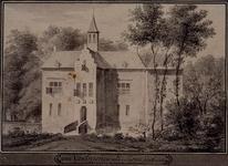 XXXI-632 Een huis in IJsselmonde anno 1650.