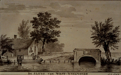 XXXI-641-01-01 De sluys van West-Yselmonde