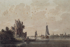 XXXI-686 't Dorp IJsselmonde aan de Maas