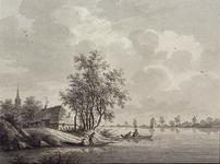XXXI-687-1 't Dorp IJsselmonde aan de Maas (?)
