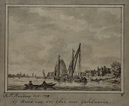 XXXI-691 de Mond van den IJsel over IJsselmonde
