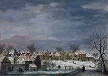 XXXII-8 Wintergezicht bij de Rotte.