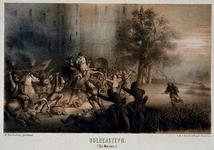 XXXIII-1-I Gevecht met de Noren op Bulgersteyn.