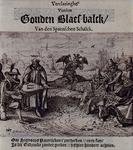 XXXIII-10 Spotprent naar aanleiding van de val van Johan van Oldenbarnevelt.