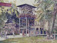 XXXIII-1010-32-10-1 18 mei - 3 septemberEnergiemanifestatie E55.Herenhuis in het Park met carillon.
