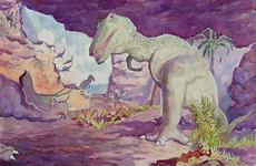 XXXIII-1010-32-16-04-2 18 mei - 3 septemberEnergiemanifestatie E55.Dinosaurussen in het krijttijdperk.