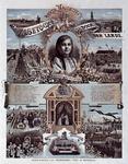 XXXIII-128 1891Bezoek van H.H.M.M. de Koningin en de Koningin Moeder.Historieprent waarop o.a. de steenlegging aan de ...