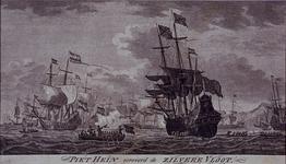 XXXIII-13-01 1628Gezicht in de baai van Matanras op Cuba waar Piet Heyn als admiraal van de West Indische Compagnie een ...