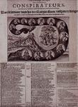 XXXIII-13 Prent op de samenzwering tegen het leven van prins Maurits.