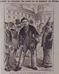 XXXIII-133 1891Spotprent op de burgemeesters vacature.