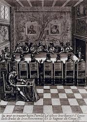 XXXIII-14-5 1638Bezoek van Maria de Medici. (Behorende bij de intocht van Hare Majesteit de Koningin Moeder van Frankrijk).