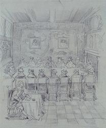 XXXIII-14-6 1638Bezoek van Maria de Medici.