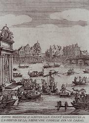 XXXIII-14-9 1638Bezoek van Maria de Medici aan Amsterdam.