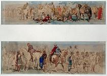 XXXIII-153-01-1-EN-2 Groepen uit de historische optocht ter gelegenheid van de zogenaamde Brielse feesten.