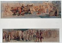 XXXIII-153-01-3-EN-4 Groepen uit de optocht ter gelegenheid van de zogenaamde Brielse feesten. De groepen worden in ...