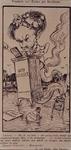 XXXIII-162-00-01-2 7 december 1898Spotprent op de nutslezing van Frederik van Eeden.