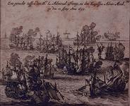 XXXIII-17 12 juni 1653Zeeslag bij Nieuwpoort.