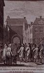 XXXIII-23 Advocaat-fiscaal mr. Johan Kievit wordt naar de Gevangenenpoort in Den Haag gebracht.
