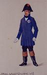 XXXIII-267-02-22 1913Herdenking van de 100-jarige onafhankelijkheid.Ontwerp in costuum in de optocht:- Prins Willem.