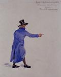 XXXIII-267-02-23 1913Herdenking van de 100-jarige onafhankelijkheid.Ontwerp in costuum in de optocht:- Prins Willem.