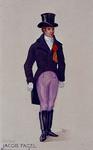 XXXIII-267-02-9 1913Herdenking van de 100-jarige onafhankelijkheid.Ontwerp in costuum in de optocht:- Robert Jacob Fagel.