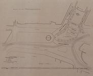 XXXIII-274-2 1913Herdenking van de 100-jarige onafhankelijkheid.Situatie van het Van Hogendorpsplein en het Oostplein ...