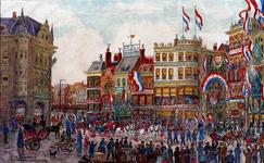 XXXIII-278-00-01 1913Herdenking van de 100-jarige onafhankelijkheid.De optocht bij Plan C.
