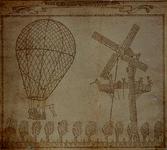 XXXIII-33-01 De opstijging van de ballon van Blanchardt buiten de Delftse Poort