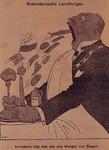 XXXIII-332 1927Spotprent op het voorgestelde uitbreidingsplan.