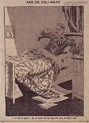 XXXIII-344 April 1930Spotprent op de houding van de Rotterdamse burgemeester in zake de ratificatie van het contract ...