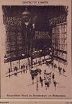 XXXIII-346-05 Mei 1931Spotprent op de financiele nood in Amsterdam en Rotterdam.