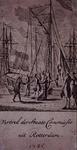XXXIII-37 1785Vertrek van de staatscommissie uit Rotterdam.
