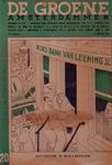 XXXIII-379-00-01 1936Spotprent op de Rotterdam's financiële moeilijkheden.De burgemeester en de wethouders beëngen het ...