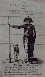 XXXIII-38 1787Spotprent op ds. J.J. le Sage ten Broek.
