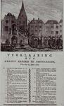 XXXIII-39 23 april 1787Afzetting van 7 vroedschapleden door de leden van de Vaderlandse Sociëteit. Optocht van de ...