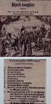 XXXIII-5-02 1618Spotprent op de val van de remonstranten. Met een verklaring van de op de prent voorkomende personen.