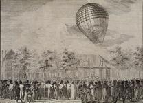 XXXIII-50 De ballonopstijging van Abraham Hopman.