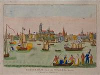 XXXIII-53 De aankomst van de eerste beladen zeeschepen te Rotterdam na de omwenteling.