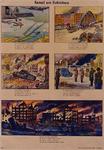 XXXIII-566-05 Duitse propaganda-afbeeldingen van de Duitse inval in Nederland en de verwoesting van Rotterdam