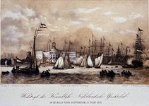 XXXIII-70-02 12 juli 1854Roeiwedstrijd van de Kon. Ned. Yachtclub, op de Maas.