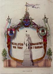 XXXIII-74 24 september 1860Onthulling standbeeld van Tollens.
