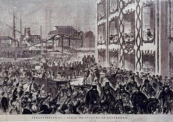 XXXIII-83 Feestviering en optocht i.v.m. herdenking van de inname van Den Briel in 1572.