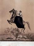 XXXIV-28-10 De voorstelling van Käthchen Carré op het paard Juno.