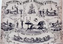 XXXIV-28-13 De voorstellingen van mr. Henry J. Williams, paardendressuur.