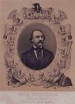 XXXIV-28-5 Portret van Eduard Wollschläger, directeur van een circus.