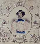 XXXIV-28-7 Portret van de beroemde kunstrijdster Pierré Monfroid.