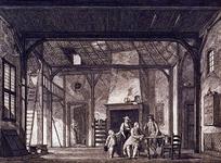 XXXIV-54 Afbeelding van De arme Kamer , 4e toneel van het 1e bedrijf uit het zedespel, Fanny of het gelukkig berouw, ...