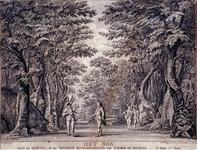 XXXIV-57 Afbeelding van Het Bos , 2e toneel van het 3° bedrijf uit Joan en Garcias, of de onzijdige rechtpleeging van ...