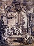 XXXIV-63 Huwelijksplaat van het huwelijk tussen Maarte van Halteren en Elisabeth Muiters.(Maarte van Halteren was ...