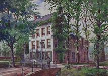1971-2221 Buitenverblijf Lommeroord aan de Katendrechtsedijk.